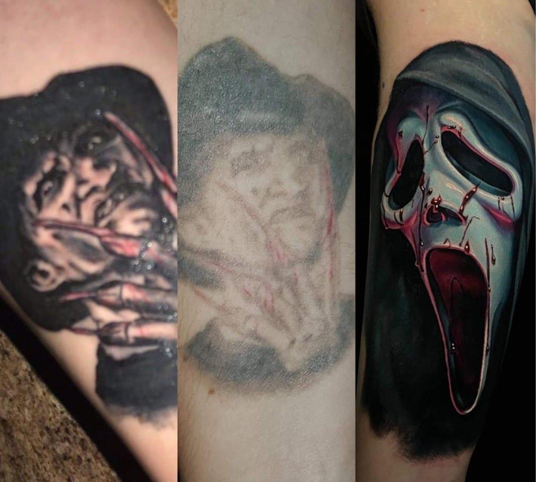 scream tattoo